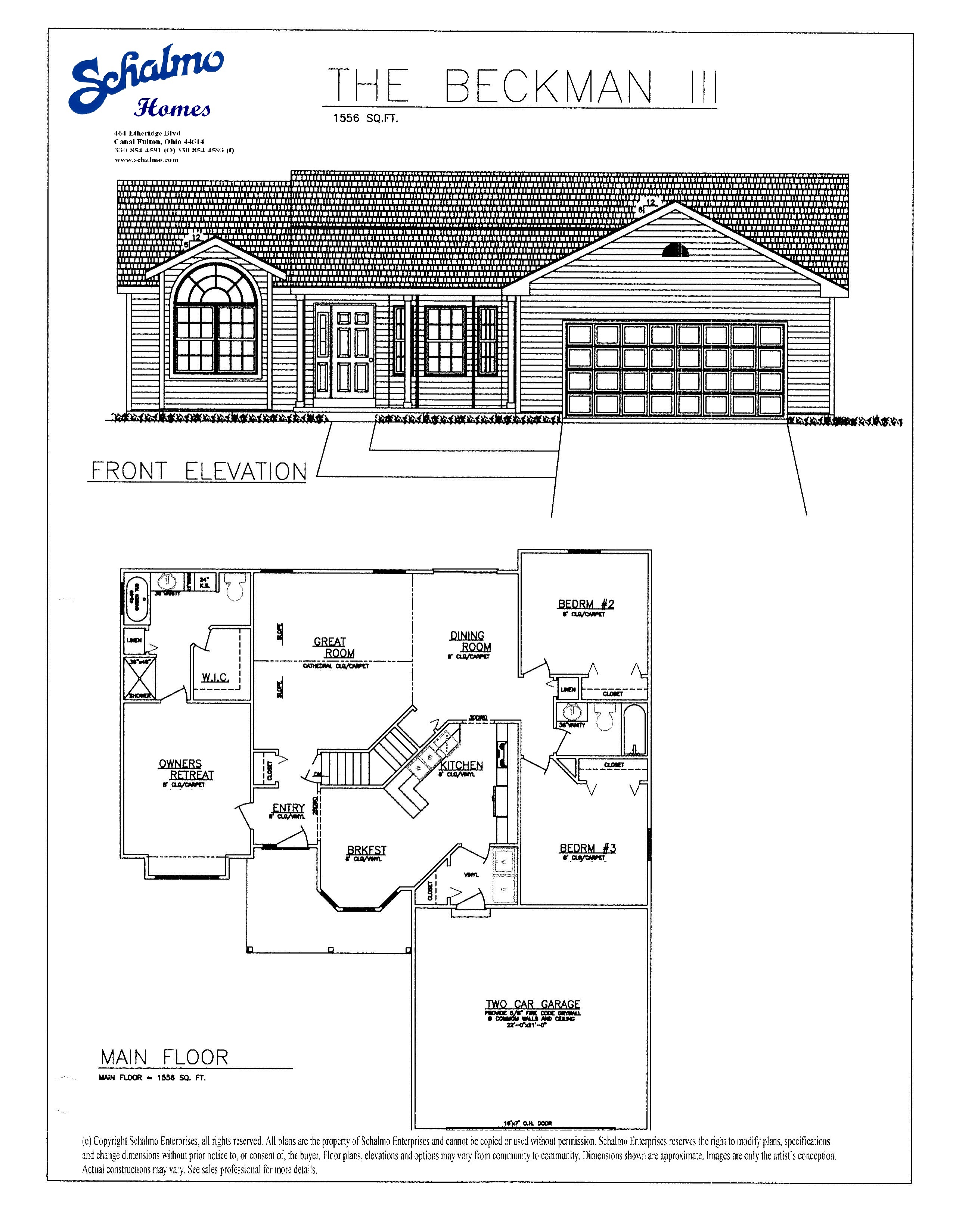 home schalmo custom home builder