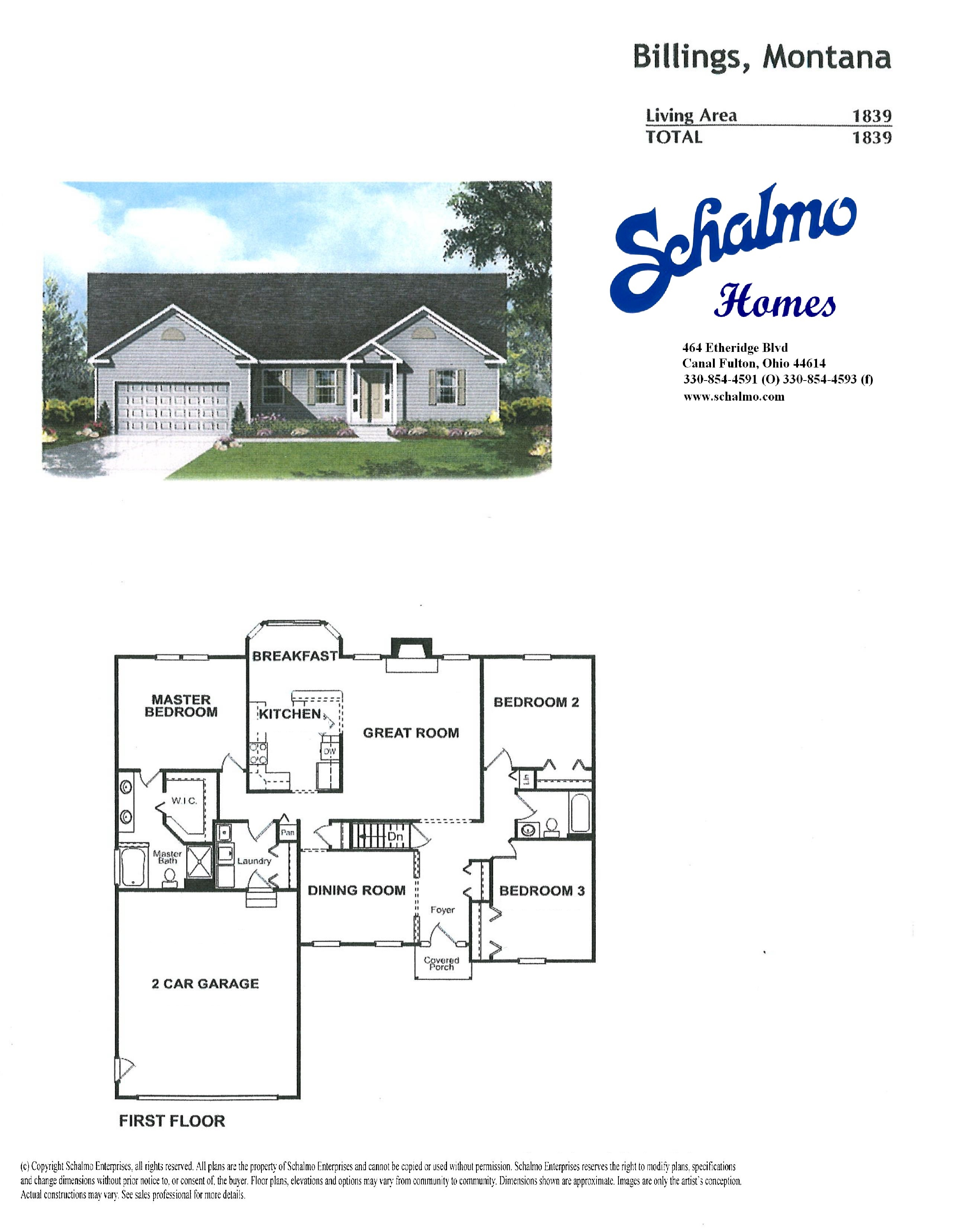 Home schalmo custom home builder for Two story cape cod house plans